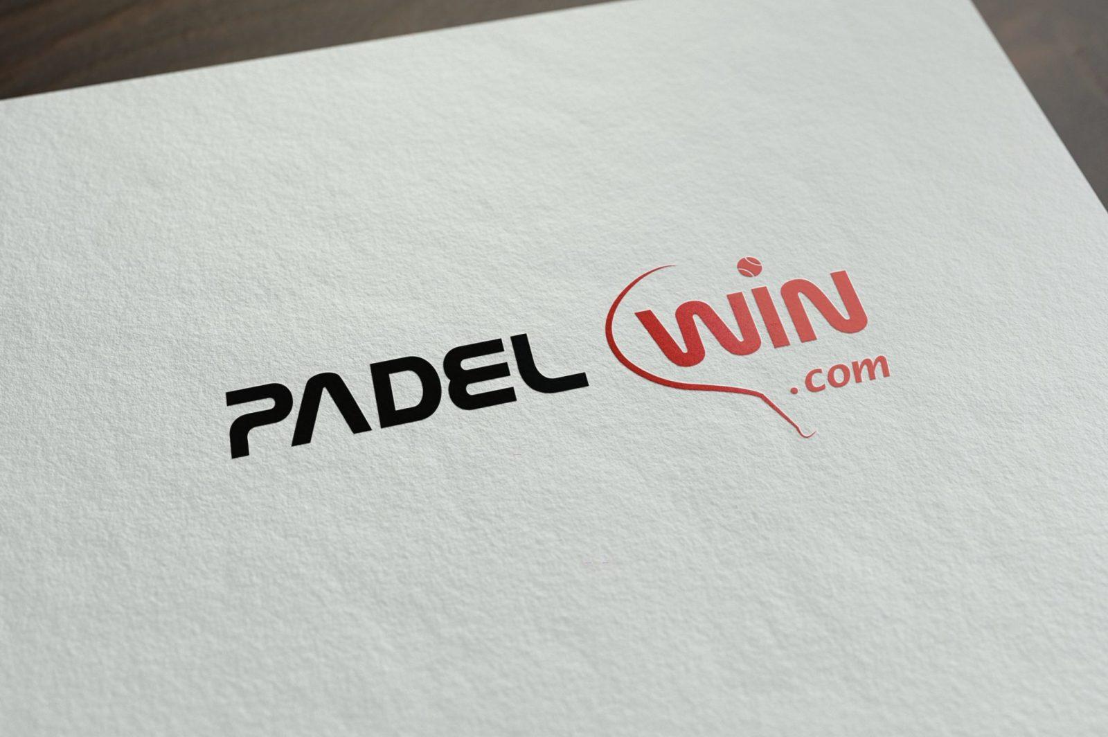 Diseño de marca profesional de padel